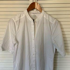 HD Paris (Anthro) white shirt